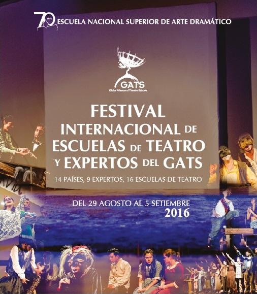 Festival Internacional de Escuelas de teatro y expertos del GATS