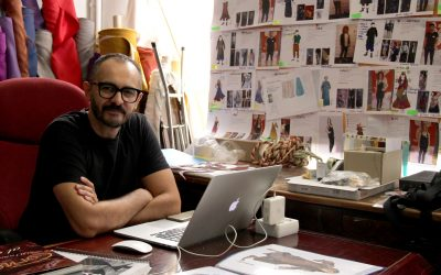 """""""La plástica vino a salvarme"""" Entrevista a Juan Sebastián Domínguez"""