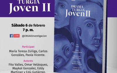 Presentación del libro «Dramaturgia Joven II»