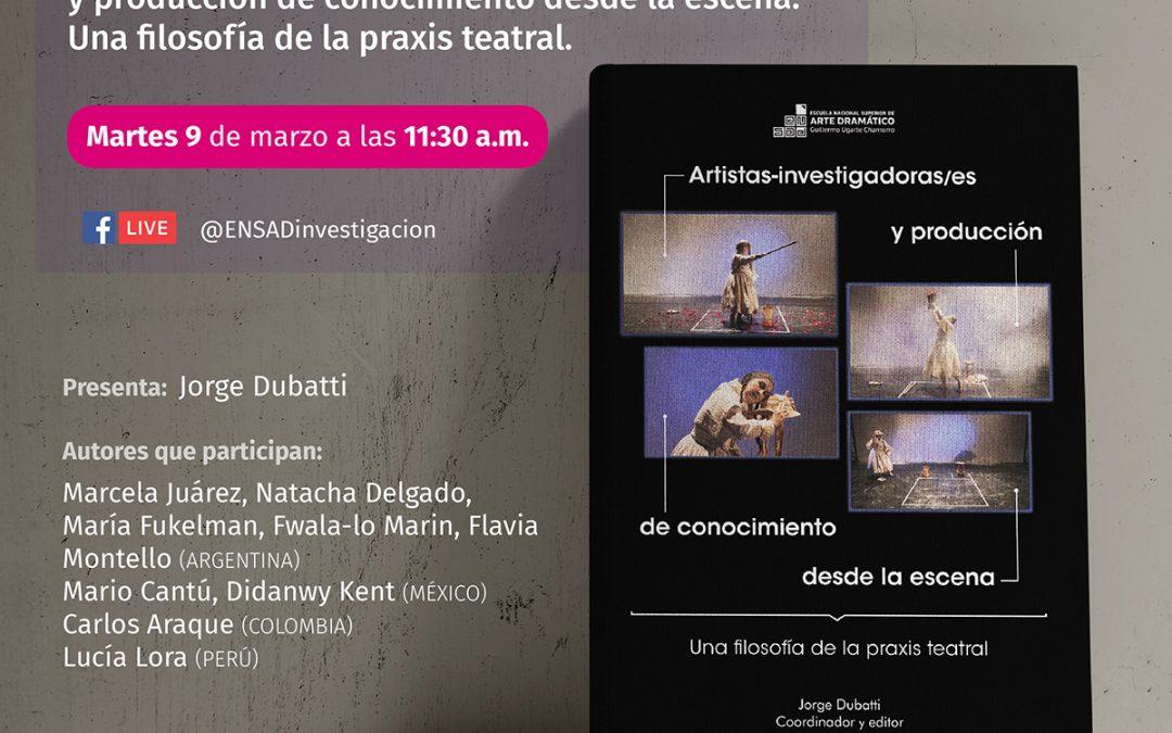Presentación del libro «Artistas-investigadoras/es»