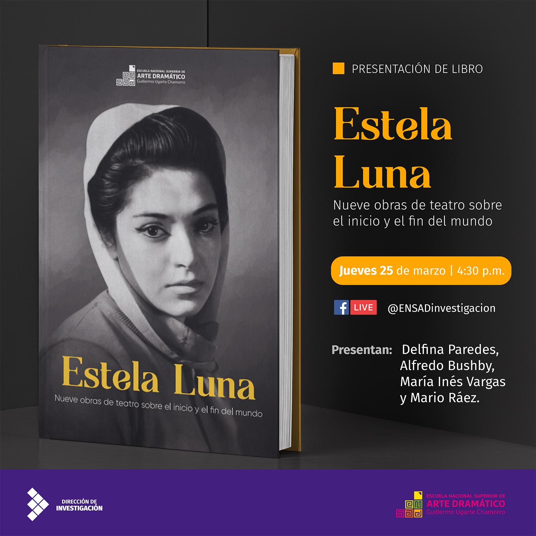 Banner Presentación Estela Luna