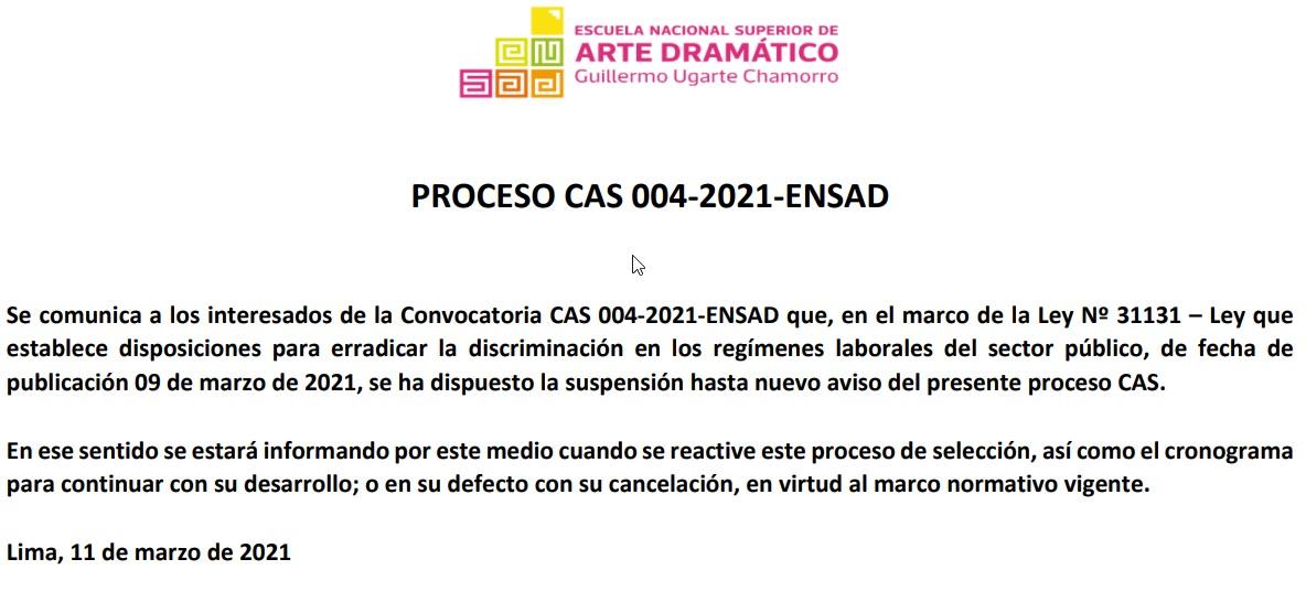 Comuniado Cas004