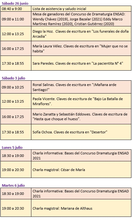 Programa Semidrama2021